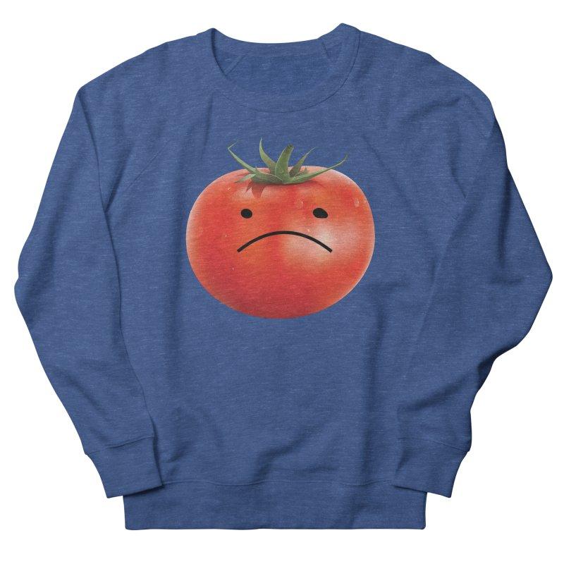 Mad Tomato Women's French Terry Sweatshirt by rubberdanpants