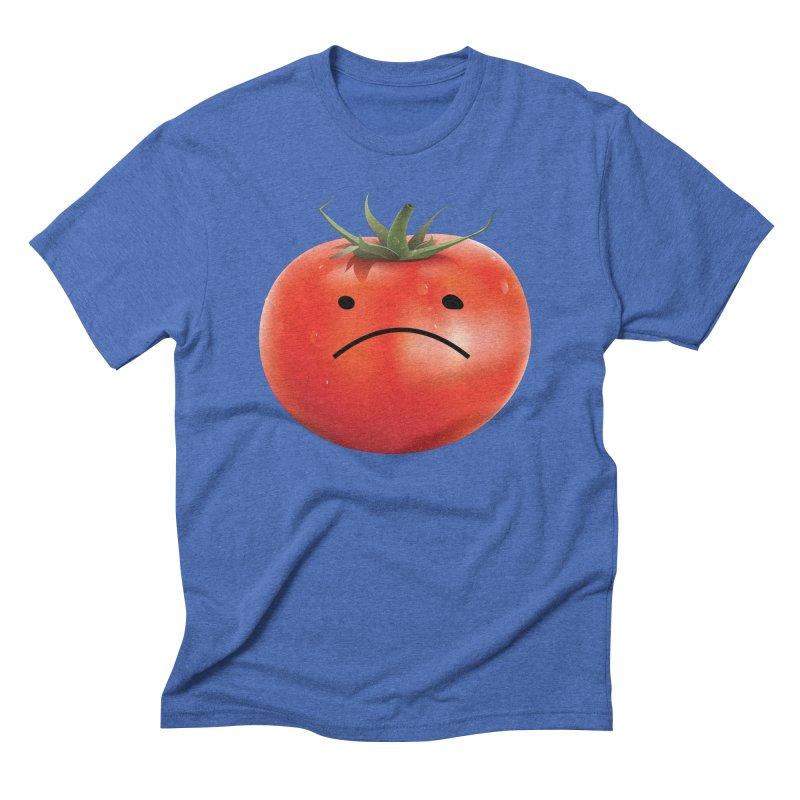Mad Tomato Men's Triblend T-Shirt by rubberdanpants