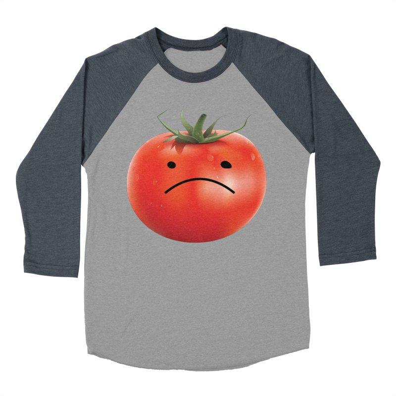Mad Tomato Women's Baseball Triblend Longsleeve T-Shirt by rubberdanpants