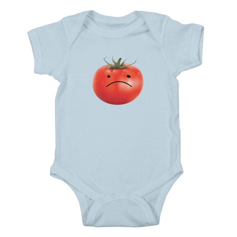 Mad Tomato Kids Baby Bodysuit by rubberdanpants