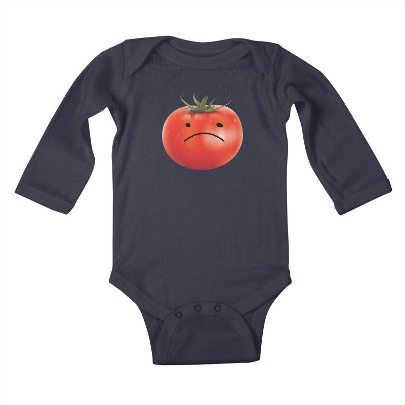Mad Tomato Kids Baby Longsleeve Bodysuit by rubberdanpants