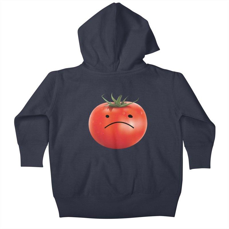Mad Tomato Kids Baby Zip-Up Hoody by rubberdanpants