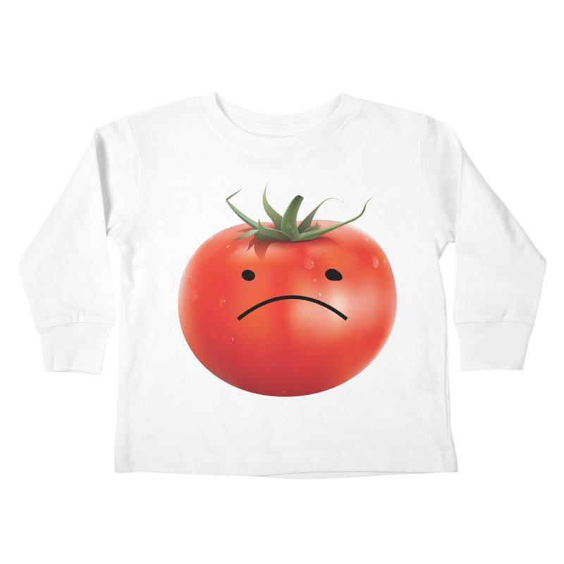 Mad Tomato Kids Toddler Longsleeve T-Shirt by rubberdanpants