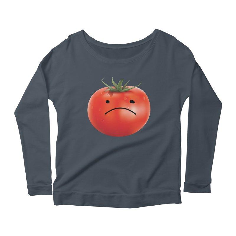 Mad Tomato Women's Scoop Neck Longsleeve T-Shirt by rubberdanpants