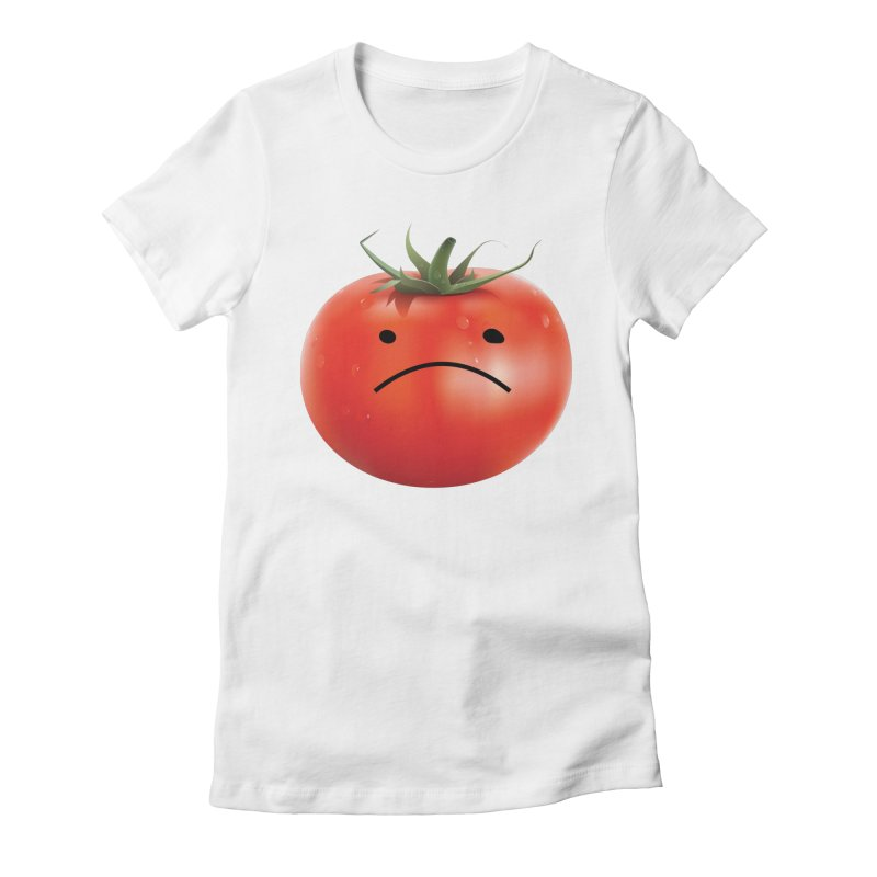Mad Tomato Women's Fitted T-Shirt by rubberdanpants