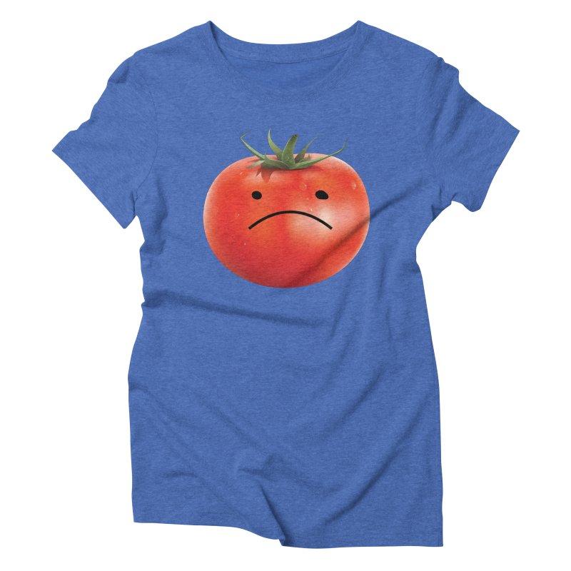 Mad Tomato Women's Triblend T-Shirt by rubberdanpants