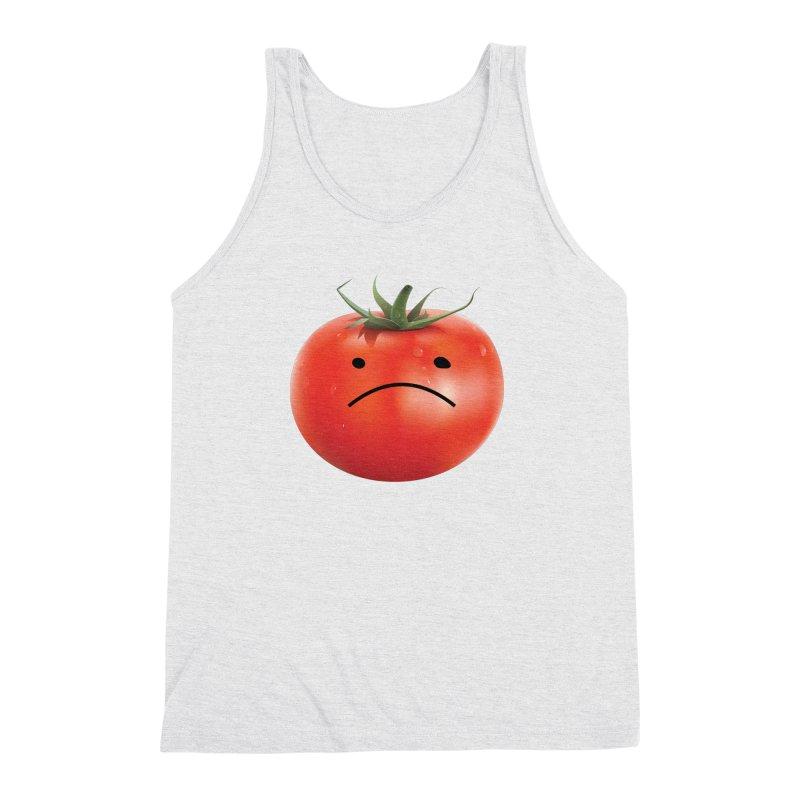 Mad Tomato Men's Triblend Tank by rubberdanpants