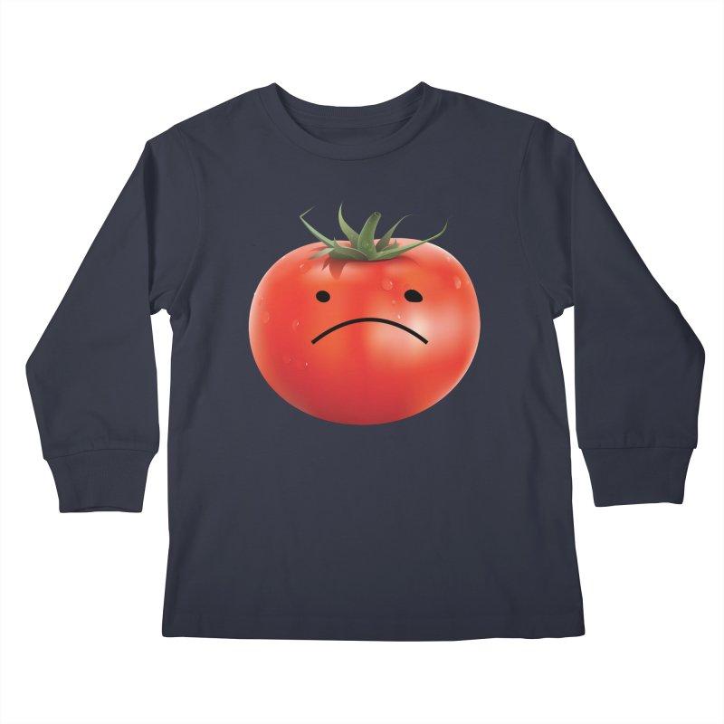 Mad Tomato Kids Longsleeve T-Shirt by rubberdanpants