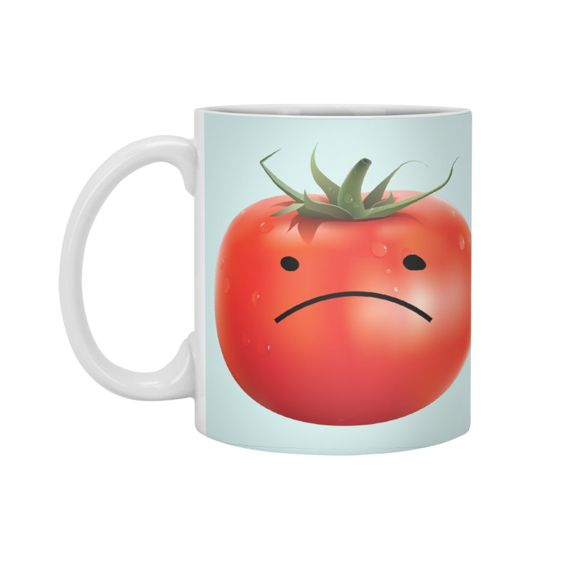 Mad Tomato Accessories Standard Mug by rubberdanpants