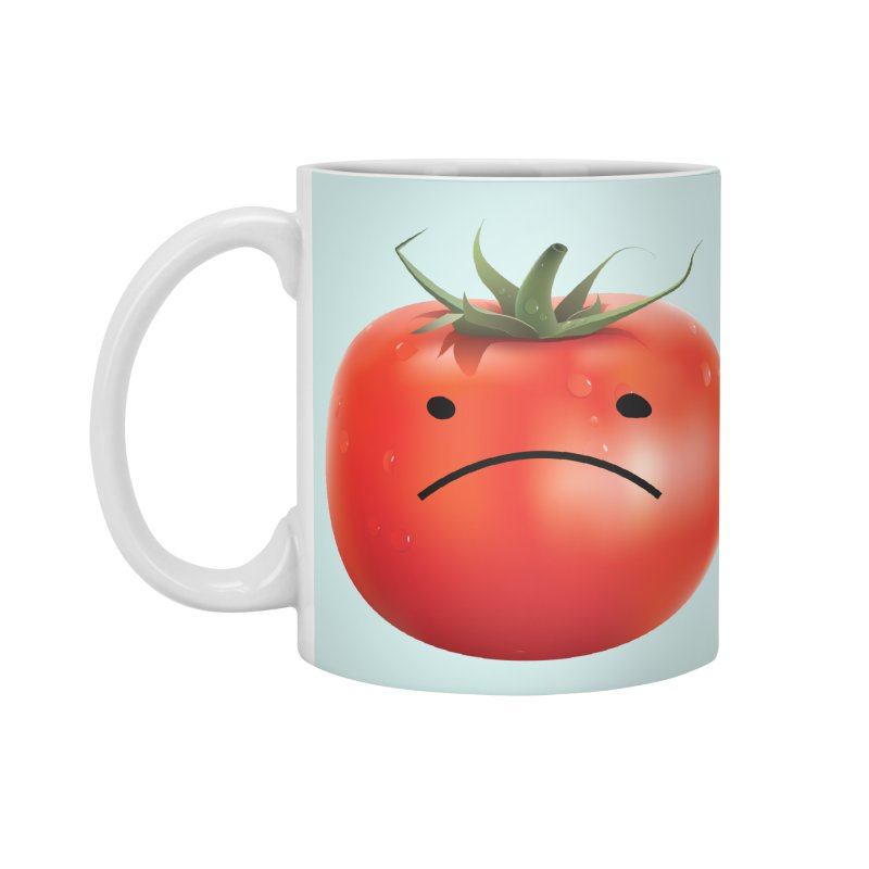 Mad Tomato in Standard Mug White by rubberdanpants