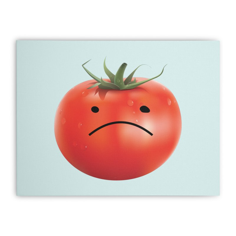 Mad Tomato Home Stretched Canvas by rubberdanpants