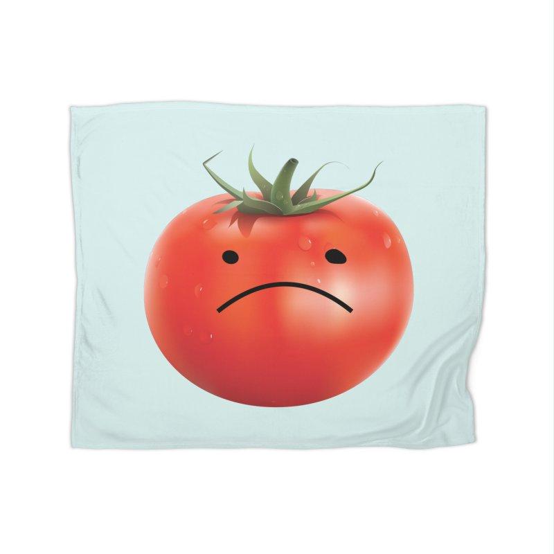 Mad Tomato Home Fleece Blanket Blanket by rubberdanpants