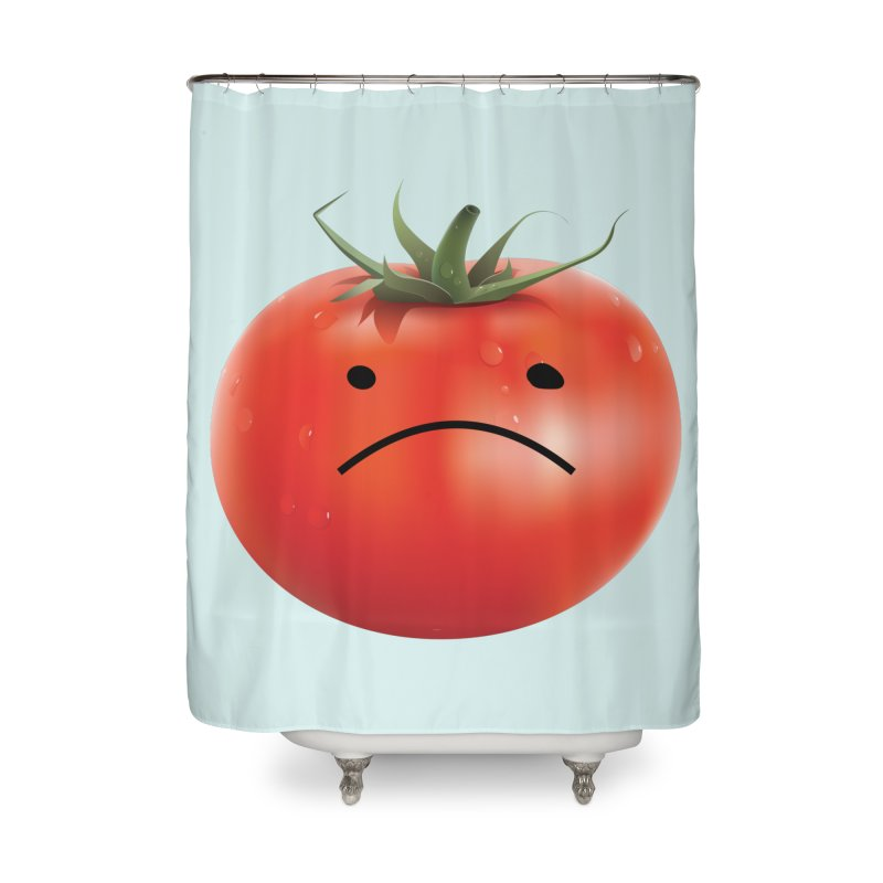 Mad Tomato Home Shower Curtain by rubberdanpants