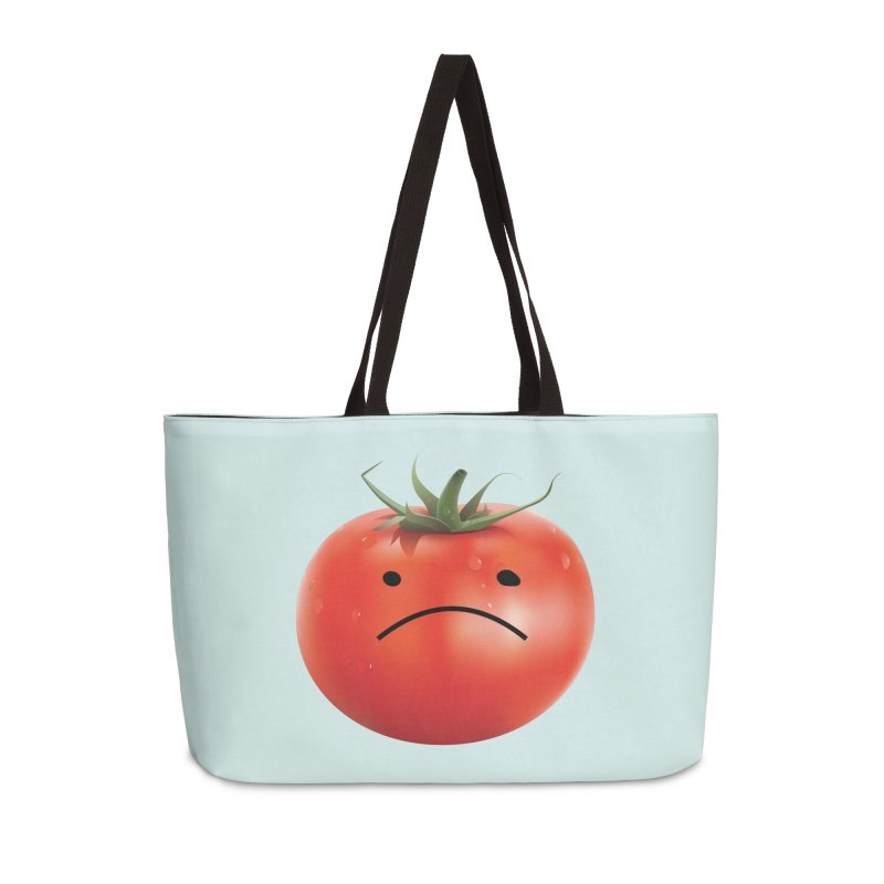 Mad Tomato Accessories Weekender Bag Bag by rubberdanpants