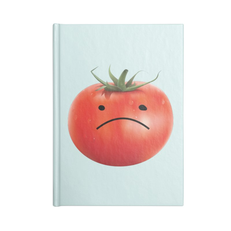 Mad Tomato Accessories Lined Journal Notebook by rubberdanpants