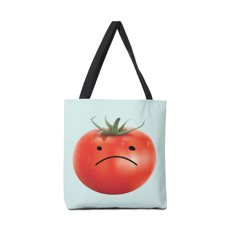 Mad Tomato in Tote Bag by rubberdanpants