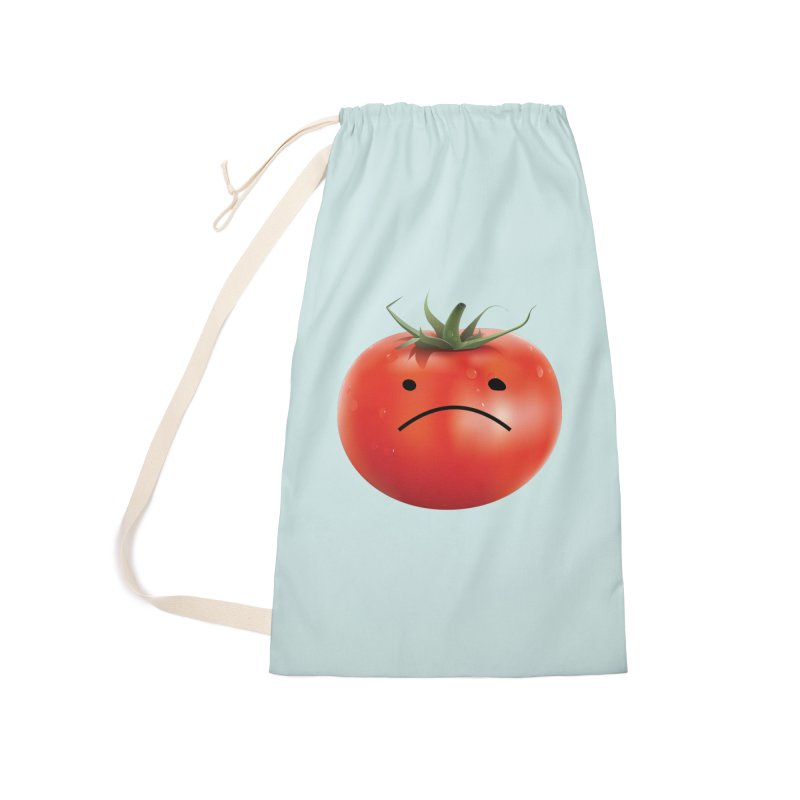 Mad Tomato Accessories Laundry Bag Bag by rubberdanpants