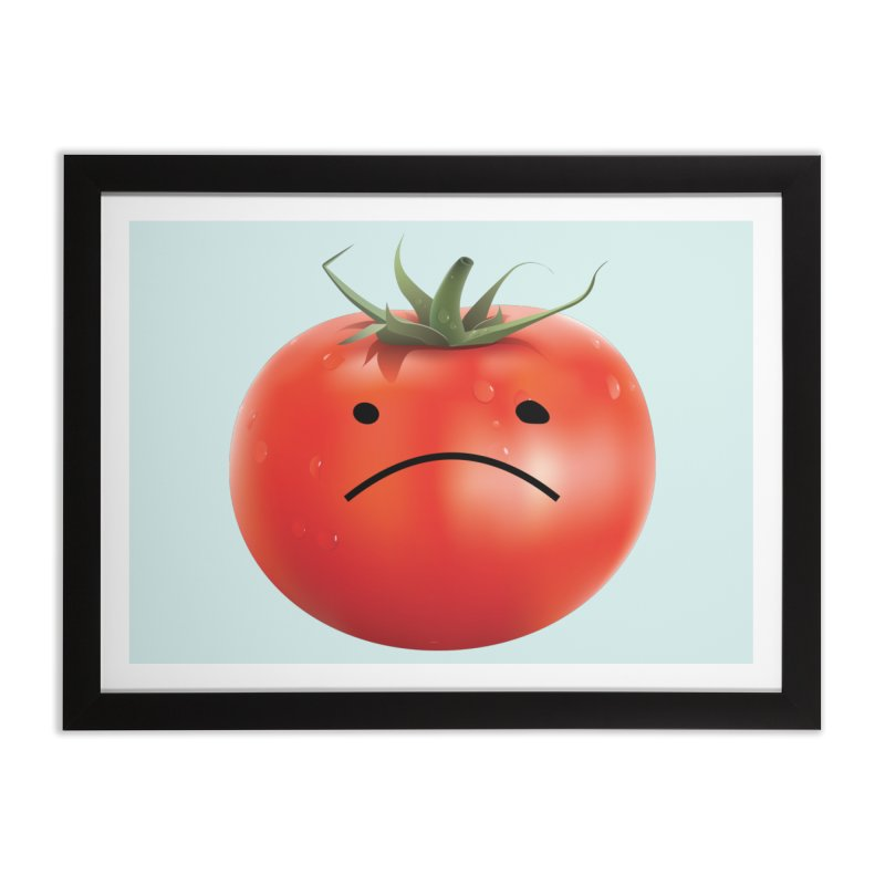 Mad Tomato Home Framed Fine Art Print by rubberdanpants