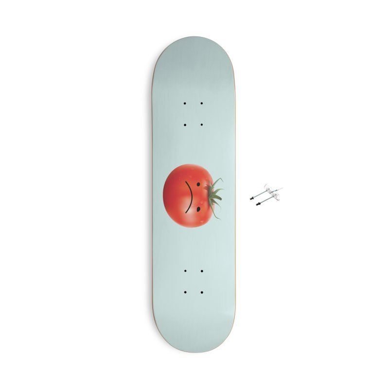 Mad Tomato Accessories With Hanging Hardware Skateboard by rubberdanpants