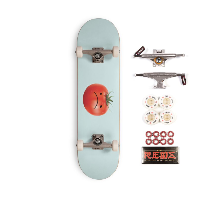 Mad Tomato Accessories Complete - Pro Skateboard by rubberdanpants