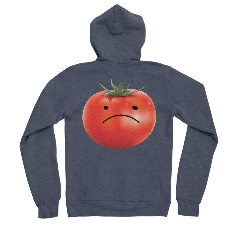 Mad Tomato Men's Sponge Fleece Zip-Up Hoody by rubberdanpants