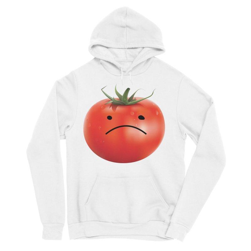 Mad Tomato Women's Sponge Fleece Pullover Hoody by rubberdanpants