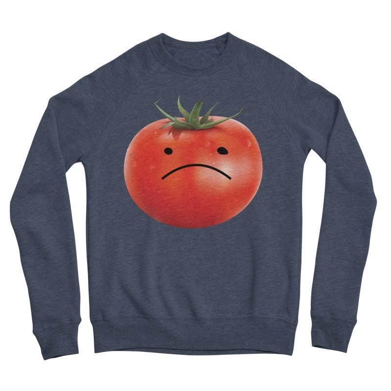 Mad Tomato Women's Sponge Fleece Sweatshirt by rubberdanpants