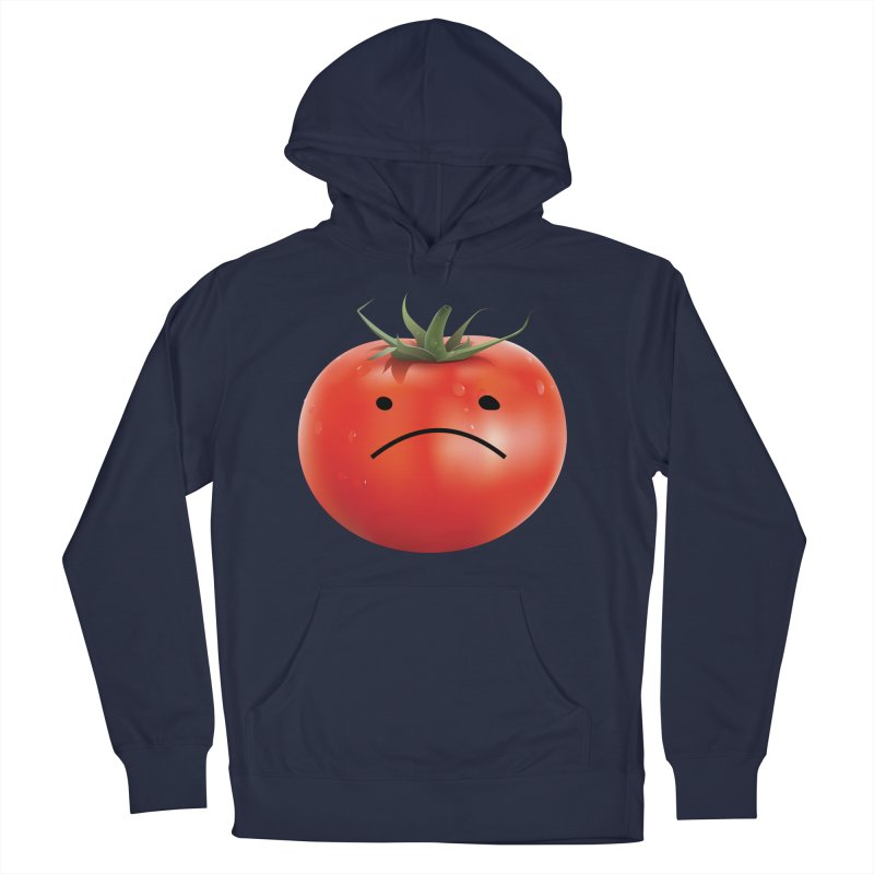 Mad Tomato Men's French Terry Pullover Hoody by rubberdanpants
