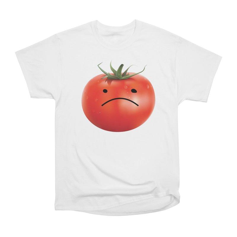 Mad Tomato Men's Heavyweight T-Shirt by rubberdanpants
