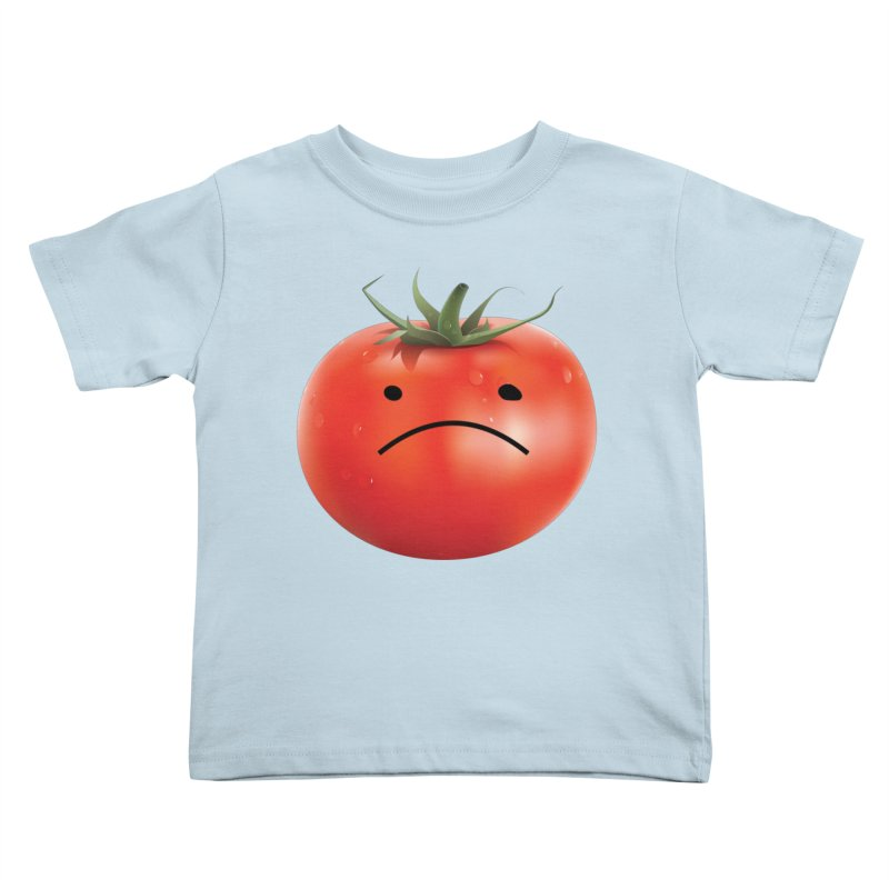 Mad Tomato Kids Toddler T-Shirt by rubberdanpants