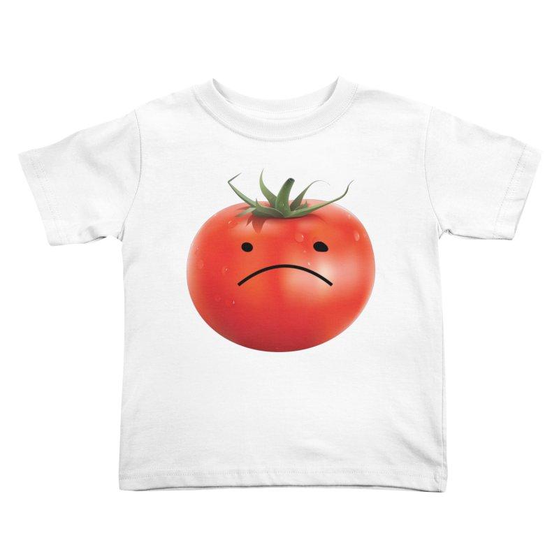 Mad Tomato Kids Toddler T-Shirt by rubberdanpants