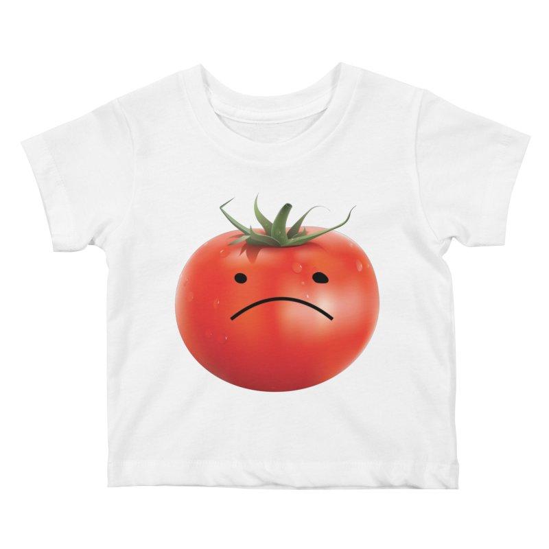 Mad Tomato Kids Baby T-Shirt by rubberdanpants
