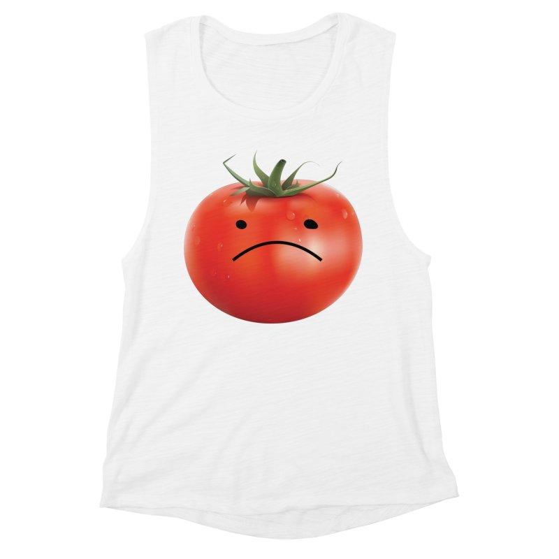 Mad Tomato Women's Muscle Tank by rubberdanpants