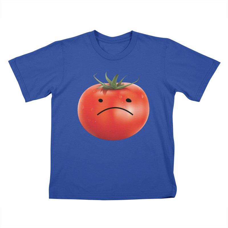 Mad Tomato Kids T-Shirt by rubberdanpants