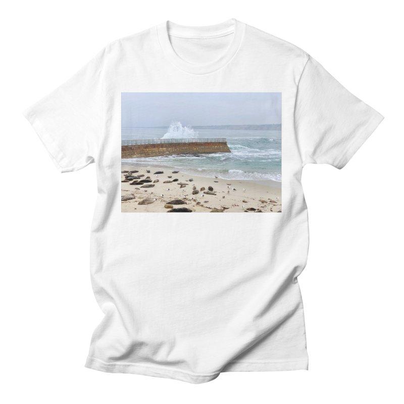 La Jolla Men's T-Shirt by rubberdanpants