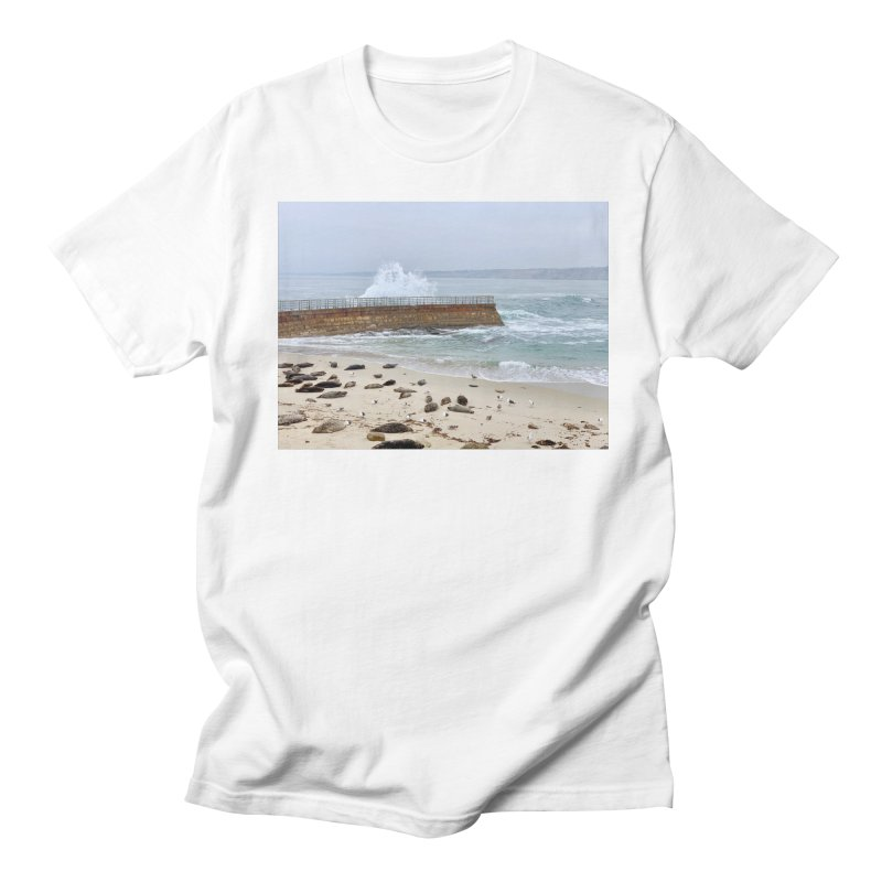 La Jolla Men's T-Shirt by rubberdanpants