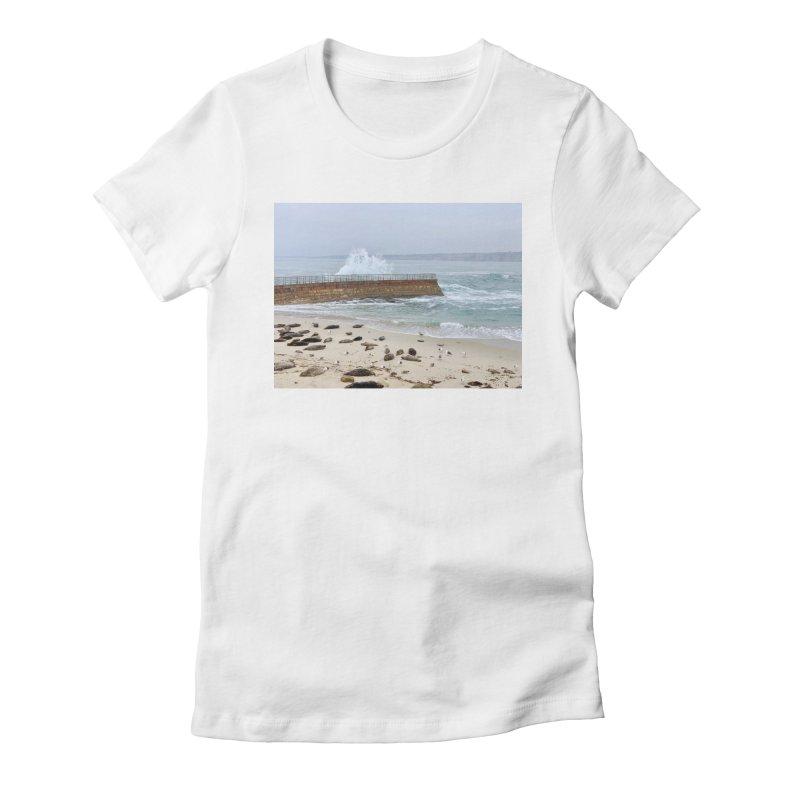 La Jolla Women's T-Shirt by rubberdanpants