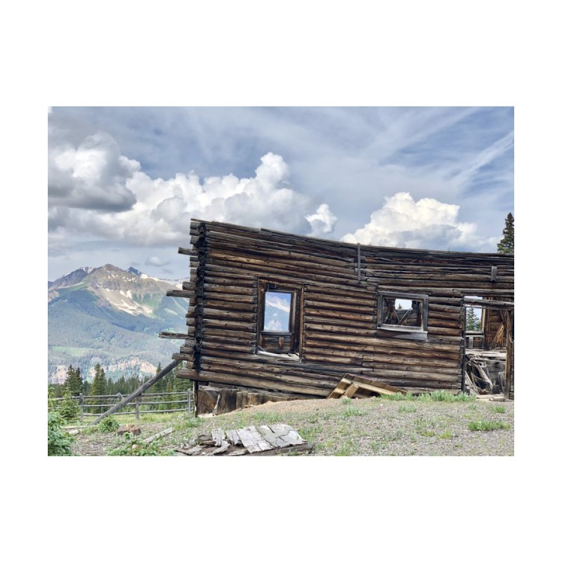 Alta Lakes Home Fine Art Print by rubberdanpants