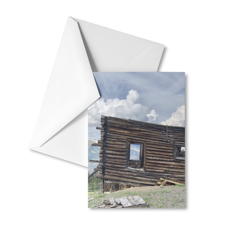 Alta Lakes Accessories Greeting Card by rubberdanpants
