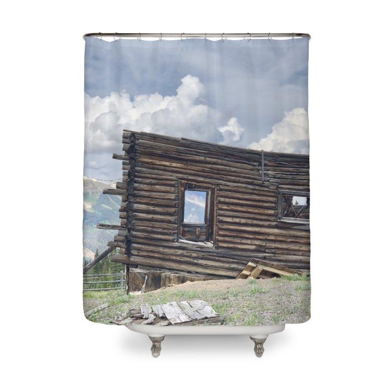 Alta Lakes Art Prints Shower Curtain by rubberdanpants