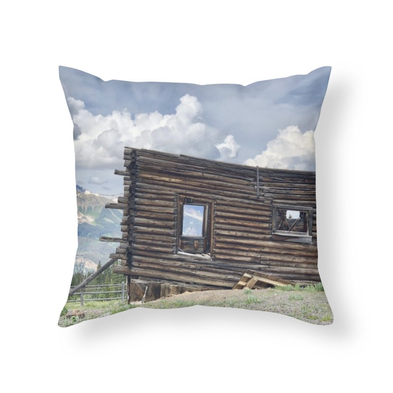 Alta Lakes Home Throw Pillow by rubberdanpants