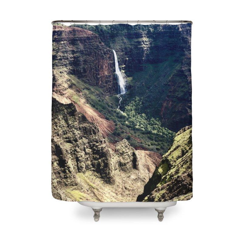 Kauai Art Prints Shower Curtain by rubberdanpants