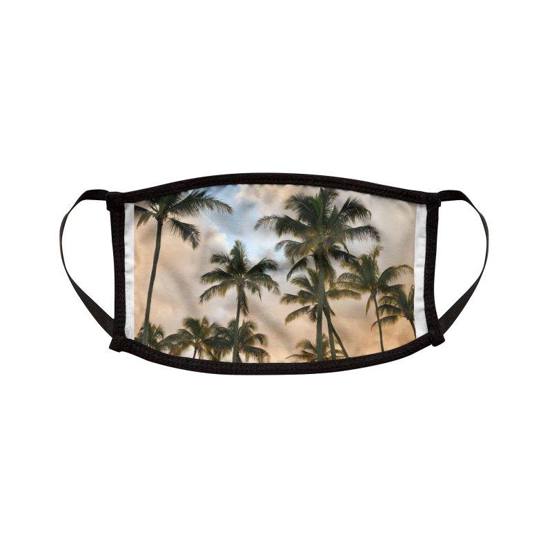 Hawaiian Palms Accessories Face Mask by rubberdanpants