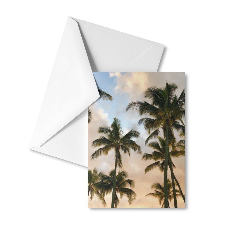 Hawaiian Palms Accessories Greeting Card by rubberdanpants