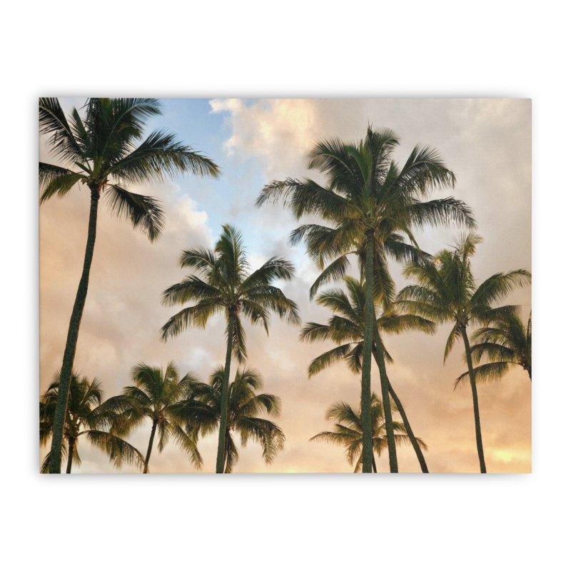 Hawaiian Palms Art Prints Stretched Canvas by rubberdanpants