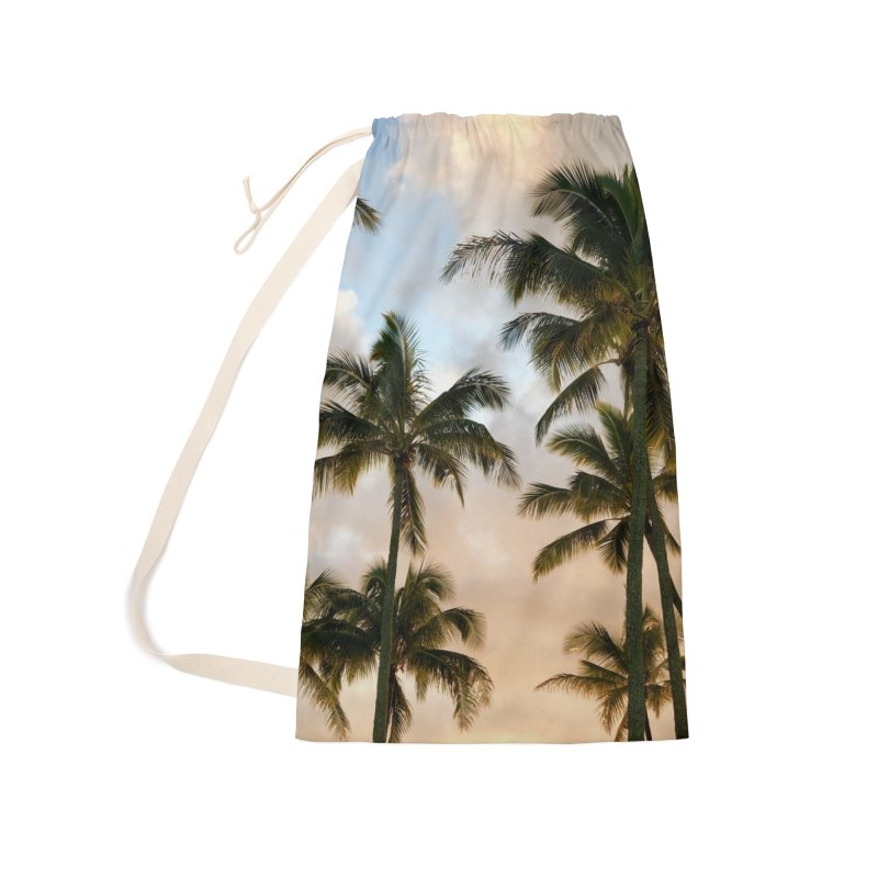 Hawaiian Palms Accessories Laundry Bag Bag by rubberdanpants