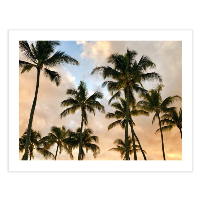 Hawaiian Palms Art Prints Fine Art Print by rubberdanpants