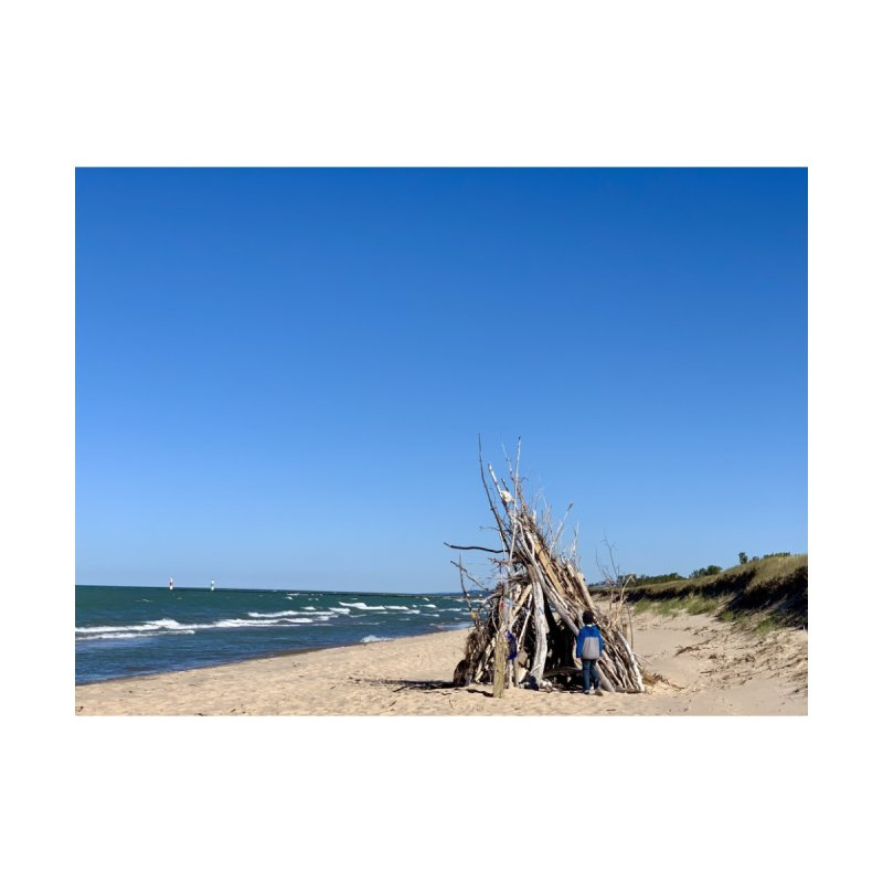 Saugatuck Home Stretched Canvas by rubberdanpants