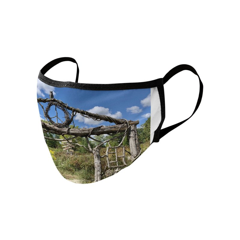 Walking Trail Accessories Face Mask by rubberdanpants