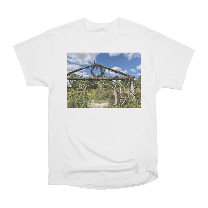 Walking Trail Mens T-Shirt by rubberdanpants
